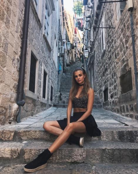**JOSPEHINE SKRIVER** <br></br> The Danish model was also spotted enjoying the sights during a trip to Dubrovnik, Croatia.