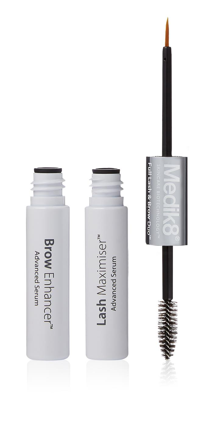 Medik8 Full Lash & Brow Duo Advanced Serum, $79, at [Ry.com.au](http://www.ry.com.au/medik8-full-lash-brow-duo-advanced-serum-6ml.html). <br> <br> This popular newbie allows you to get right to the base of your brow and lash hairs with it's dual application wand.