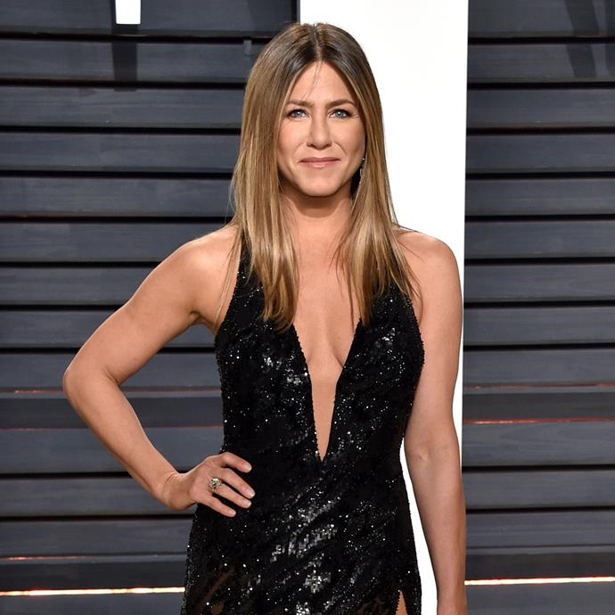 **Jennifer Aniston**<br><br> Jen Aniston's guns are a sight to behold.