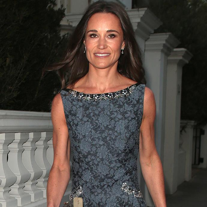 **Pippa Middleton**<br><br> In preparation for her wedding earlier this year, Pippa Middleton spent quite a bit of time pumping iron to get her arms looking amazing.