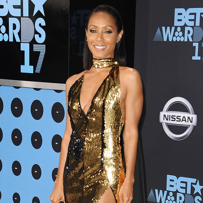**Jada Pinkett-Smith**<br><br> Jada's commitment to her insane body is well-documented, but we still can't get over those biceps.
