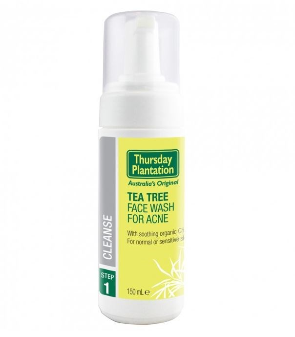 """**Thursday Plantation Tea Tree Face Wash for Acne, $12.99 at [Priceline](https://www.priceline.com.au/thursday-plantation-tea-tree-face-wash-for-acne-150-ml