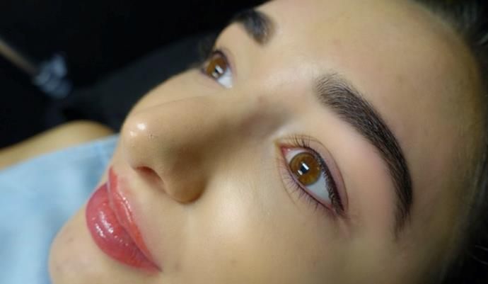 Top and bottom liner. C/O Amy Jean.