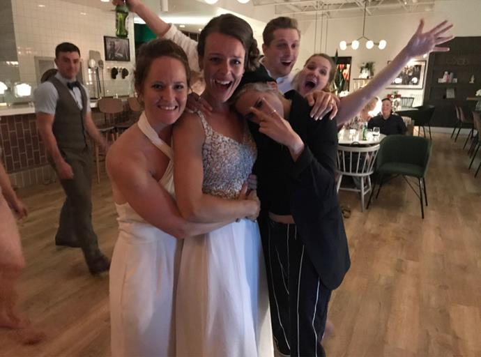 "<strong>Kristen Stewart</strong> <p> <p> Kristen Stewart took the crown of the coolest wedding crasher, when she stopped in at the wedding of a same-sex couple in Winnipeg, Canada. Kristen and her girlfriend, Stella Maxwell, dropped in on the couple, where they danced to the Beastie Boys, and ""blended in seamlessly."""