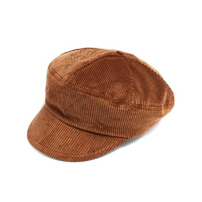 Cap, $530, [Prada at Matches Fashion](http://www.matchesfashion.com/au/products/Prada-Cotton-corduroy-cap-1162472)