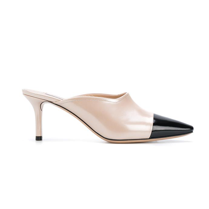 Mules, $685, [Casadei at Farfetch](https://www.farfetch.com/au/shopping/women/casadei-colour-block-mules-item-12177793.aspx?storeid=10455&from=listing&rnkdmnly=1)
