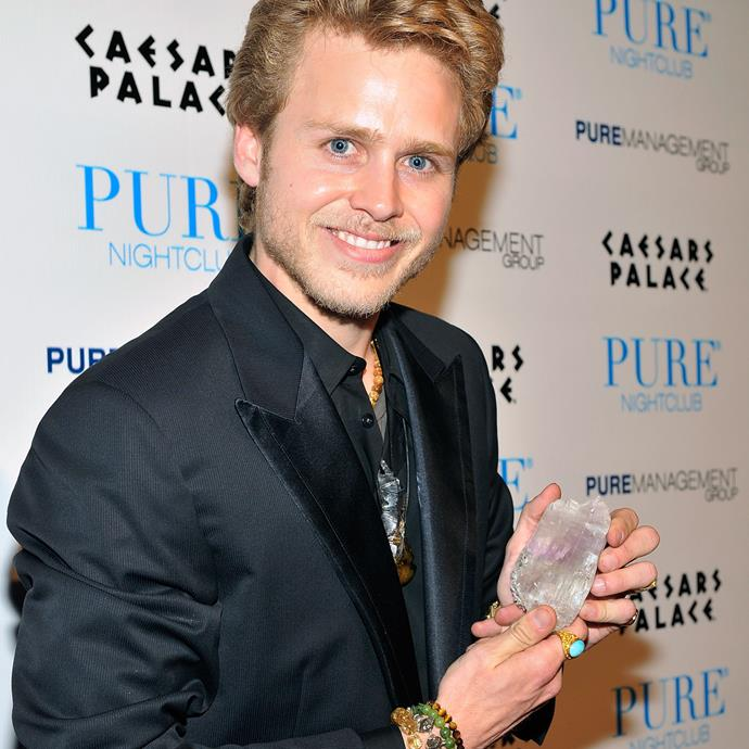 """**Spencer Pratt**<br><br> """"I spent thousands of dollars having a wizard coach. Being a wizard, it's pretty heavy. Going around with a [rutilated quartz] wand, and people start looking at you weird when you're wanding your coffee in the morning and whatever… Now I just love to look at them, because I've moved past them having powers. If they had powers, I would be Kim Kardashian right now and not Spencer."""""""