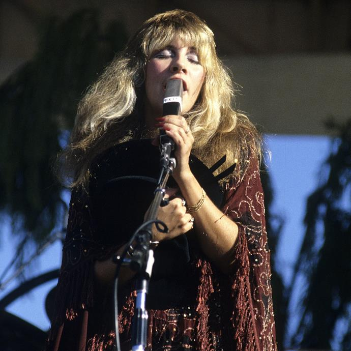 "**Stevie Nicks**<br><br> ""I totally believe in magic. Because my life, I think, has been very magic, and magical things have come true for me time after time after time."""