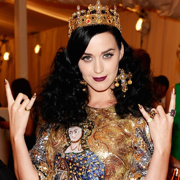 "**Katy Perry**<br><br> ""I don't stay single for long. I carry a lot of rose quartz, which attracts the male. Maybe I need to calm it down with the amethyst. I'm not like Professor Higgins with my sex life. I'm not super strict. For me, the most important thing about sex is connection."""