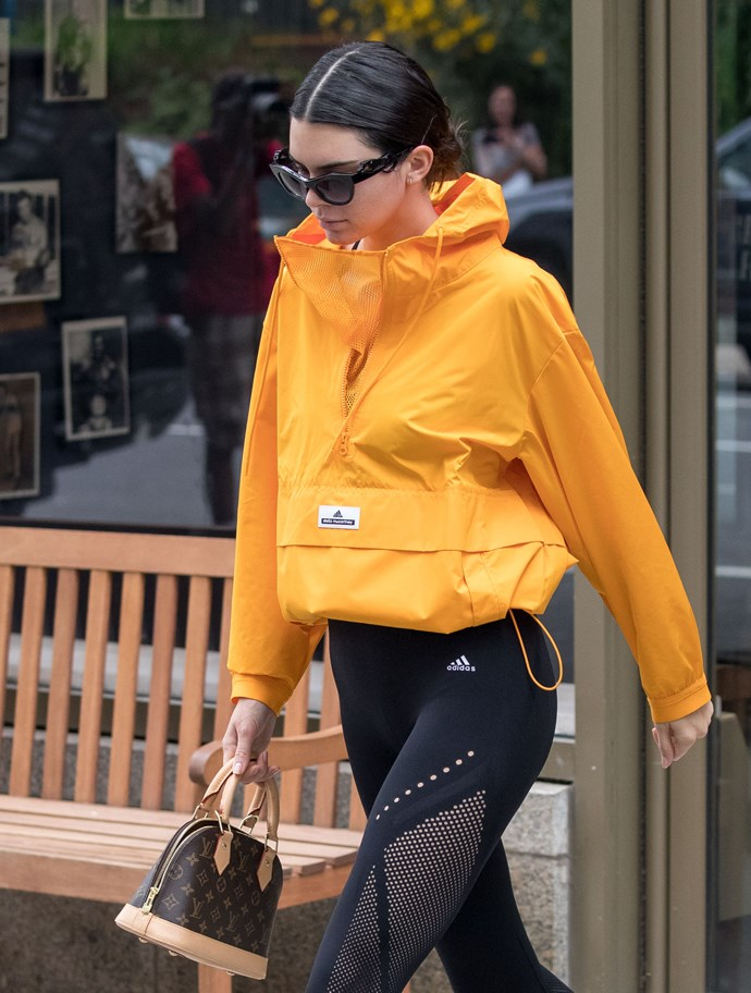 Kendall Jenner with a Louis Vuitton bag
