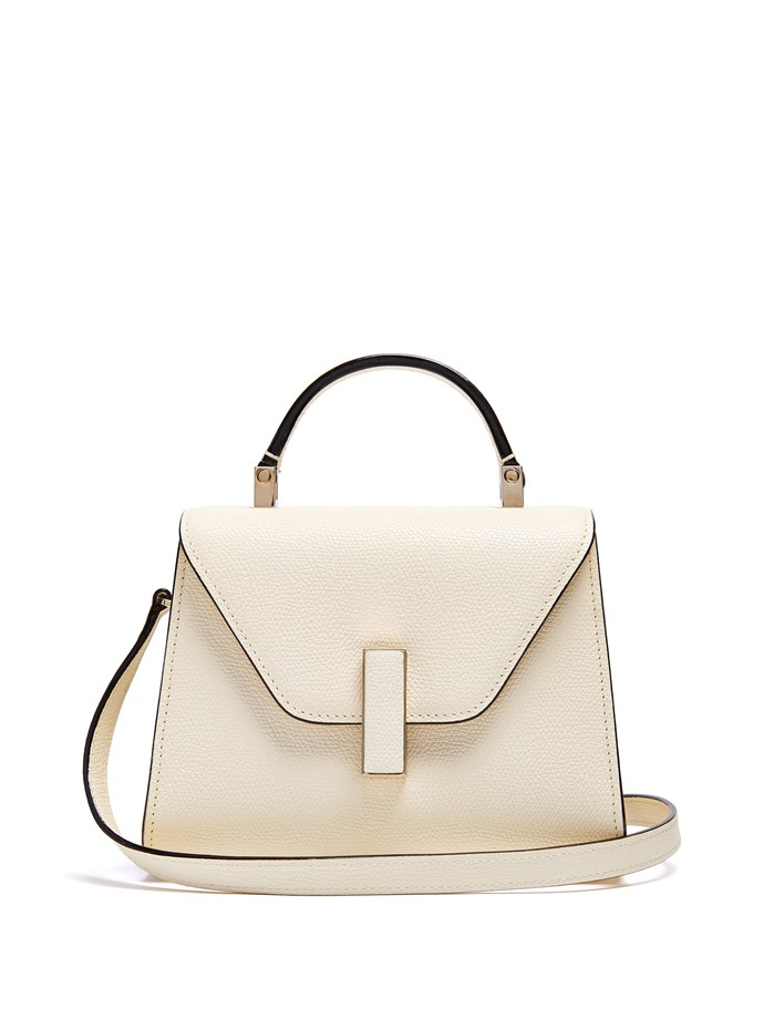 "**Buy**: Valextra bag, $2,258 at [MatchesFashion.com](http://www.matchesfashion.com/au/products/1158280?noattraqt=Set|target=""_blank"")"