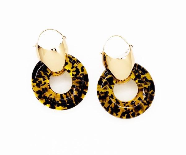 Hush Earrings, $490, Ellery at [TheUNDONE](https://www.theundone.com/products/ellery-gold-clear-hush-earrings?variant=41766080980)