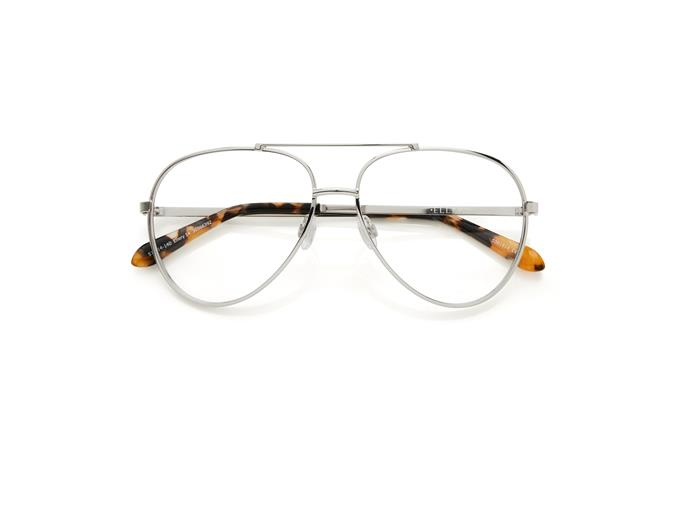 """The 'aviator' style is a timeless classic in the sunglasses department, but Kym Ellery's fresh take on optical aviators is set to dominate your Instagram feed for the coming months. <br><br> Glasses by Ellery x Specsavers, two pairs for $249 at [Specsavers](https://www.specsavers.com.au/glasses/ellery-14?sku=30566392