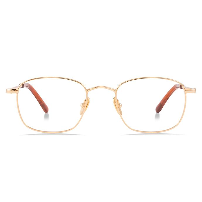 """No longer limited to English professors from the '80s, gold wire frames look refreshingly modern in 2017.<br><br>  Glasses by Bailey Nelson, $175 at [Bailey Nelson](https://baileynelson.com.au/collections/womens-optical/products/felix-gold