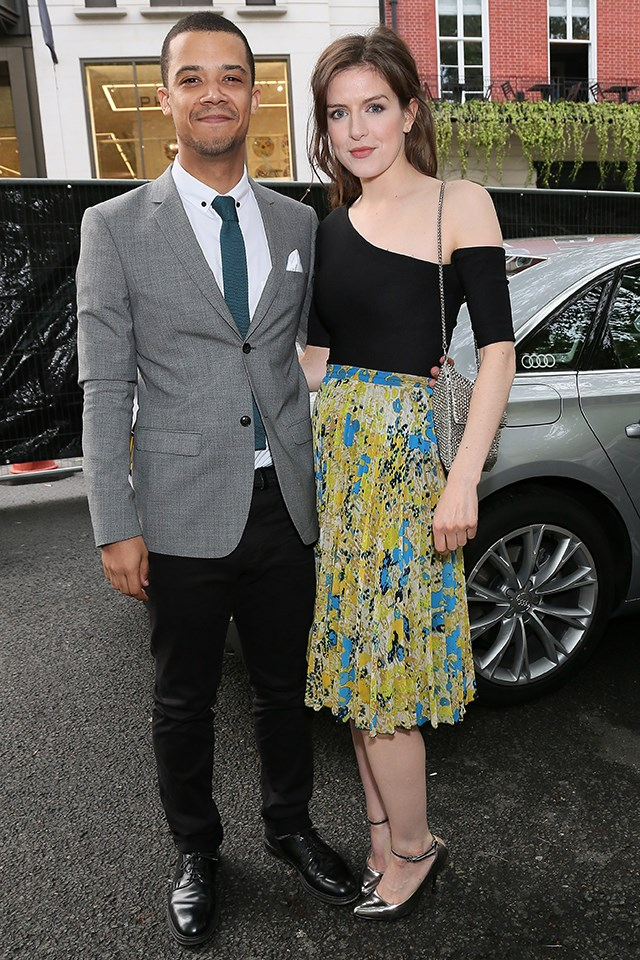 "Jacob Anderson (Grey Worm), who also releases music under the moniker Raleigh Ritchie, is married to English actress Aisling Loftus . He told [*The Guardian*](https://www.theguardian.com/lifeandstyle/2016/mar/04/raleigh-ritchie-my-family-values) in 2016, ""I'll never forget first setting eyes on my girlfriend, the actress Aisling Loftus, because it all seemed to happen in slow motion. We've been together five years. She's intelligent, sensitive and empathetic, and I've never met anybody who cares about people as much as she does. We never run out of things to talk about and our relationship has always felt very natural."""