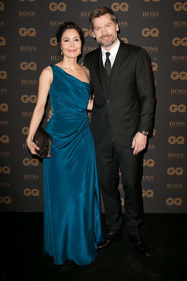 Nikolaj Coster-Waldau (Jaime Lannister) has been married to his wife, Nukâka, since 1998. She's a Greenlandic singer and actress. The couple has two daughters together, Safina and Filippa.
