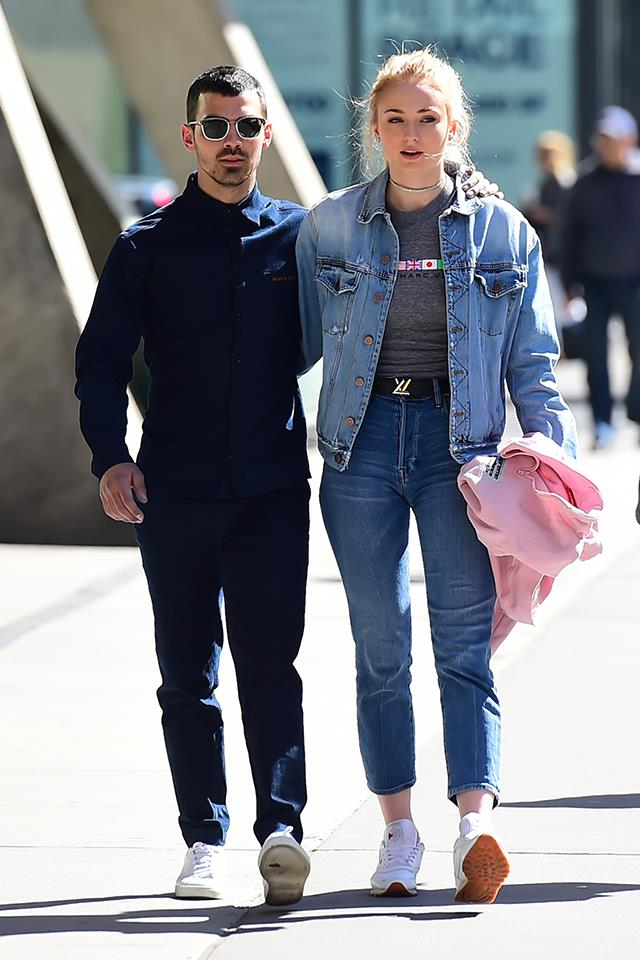 "Sophie Turner (Sansa Stark) is married to singer Joe Jonas. They were first linked together in November 2016, and announced their engagement in October 2017, before marrying in a [Las Vegas wedding](https://www.elle.com.au/celebrity/sophie-turner-joe-jonas-married-20388|target=""_blank"") in May 2019."
