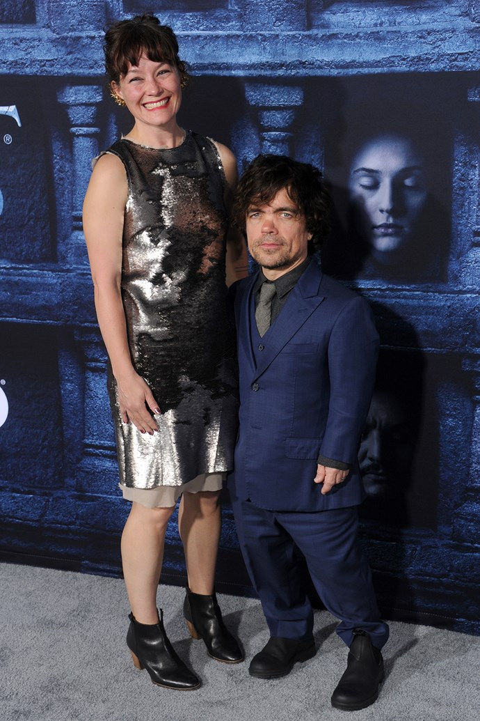 Peter Dinklage (Tyrion Lannister) married theatre director Erika Schmidt in 2005. They have two children, a daughter and an another child born in 2017, whose sex or name they have never revealed.