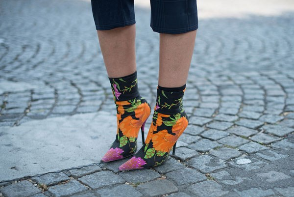**Cancer: Balenciaga's Floral Printed Boots ** <br><br> While people might not always guess it, deep down you're a true romantic. Bring out your feminine side with a 'bang' by donning a pair of Balenciaga's floral ankle boots.