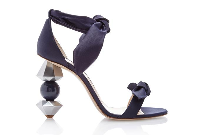 Sandal, $730, Camilla Elphick at [Moda Operandi](https://www.modaoperandi.com/camilla-elphick-r18/crystal-tips-midnight-sandal) <br><br> If your style can best be described as a little OTT, these crystal-heeled sandals will appease your conservative MIL and the early adopter in you, simultaneously.