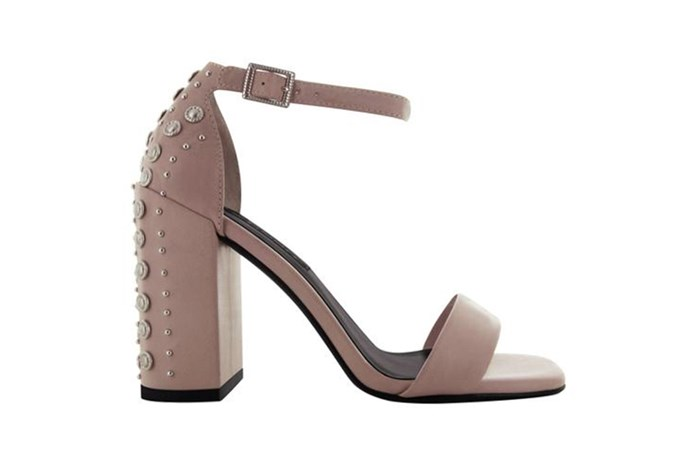Sandal, $265, Senso at [Senso](https://senso.com.au/collections/women/products/leila-caramel) <br><br> Set upon a four inch block heel, these studded beauties will give you height without sacrificing comfort.