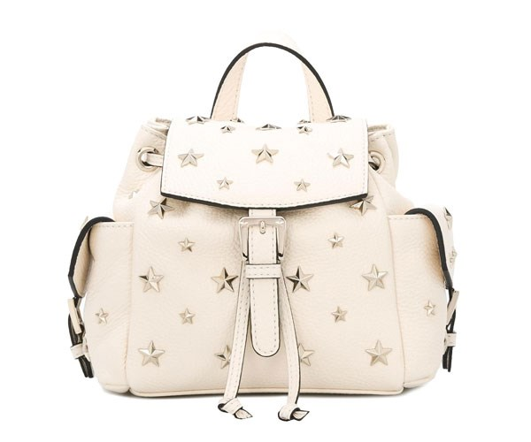 Backpack, $865, Red Valentino at [Farfetch](https://www.farfetch.com/au/shopping/women/red-valentino-stars-studded-backpack-item-11841776.aspx?storeid=9736&from=listing&tglmdl=1&rnkdmnly=1)
