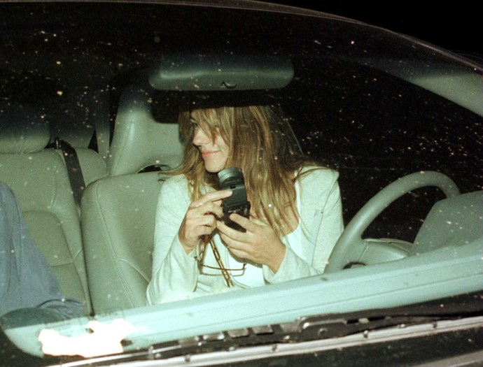 **ELIZABETH HURLEY**  I don't think you can get GPS on that, Liz.