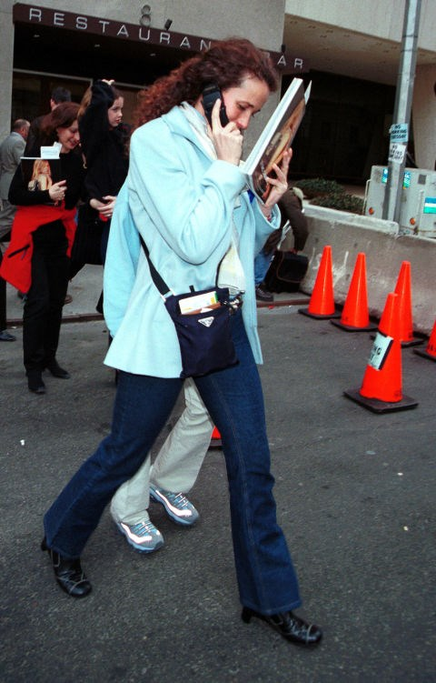 **ANDIE MACDOWELL**  I would like you congratulate you for getting through 18 photos of celebrities with old cell phones and I promise you there's a good one if you keep going.