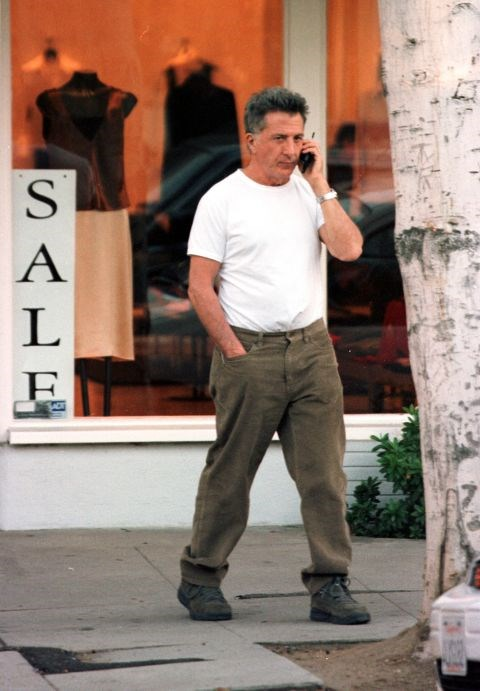 **DUSTIN HOFFMAN**  I actually really miss not having the ability to check email on my phone.