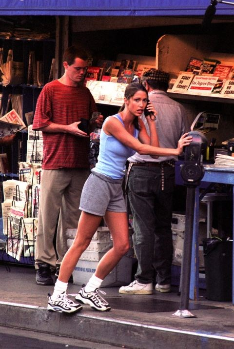 **SHANNON ELIZABETH**  TBH the rest of this look is back.
