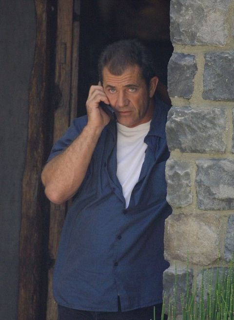 **MEL GIBSON**  MORE LIKE CELL GIBSON.