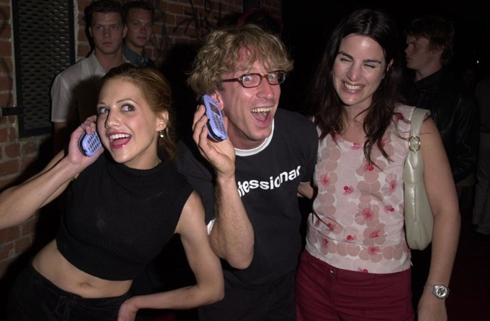 **BRITTANY MURPHY AND ANDY DICK**  I honestly wish I had been at this party.