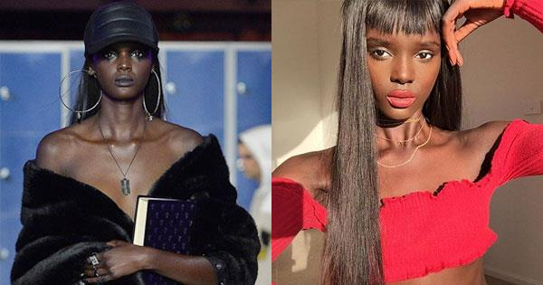 **Duckie Thot** <br><br> **Major designers they've walked for: ** Yeezy, Fenty x Puma, Naeem Khan, DSquaredm, Ulyanna Sergeenko <br><br> **Campaigns they've starred in: ** 2018 Pirelli Calendar <br><br> **Instagram: ** [@duckieofficial](https://www.instagram.com/duckieofficial/?hl=en ), 388k followers