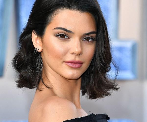 Straight shooter, Kendall Jenner.