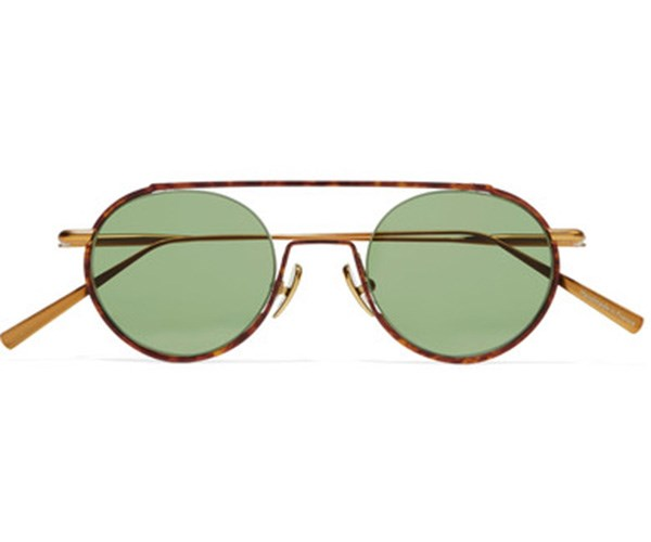 Acne Studios Round-frame Acetate and Gold-Tone Sunglasses, $500, at [Net-A-porter](https://www.net-a-porter.com/au/en/product/814626/Acne_Studios/winston-round-frame-acetate-and-gold-tone-sunglasses).