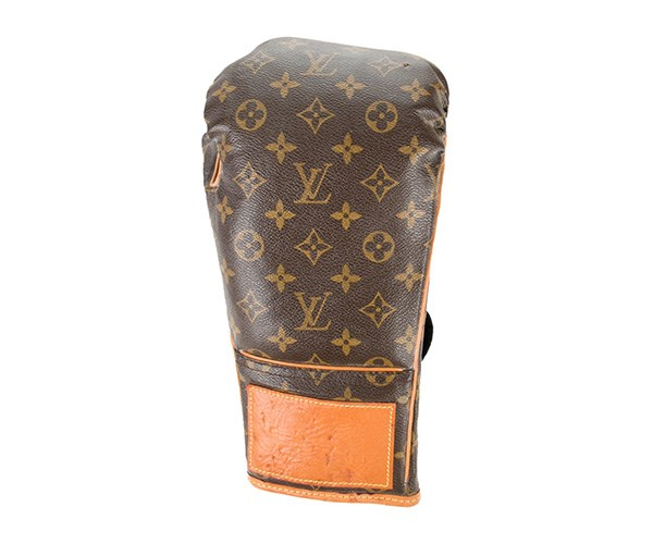 Can't justify the full boxing set? Go for the singular glove.  <br> <br> Louis Vuitton Boxing Glove, $1,700, at [The Real Real](HTTPS://WWW.THEREALREAL.COM/PRODUCTS/MEN/ACCESSORIES/GLOVES-AND-MITTENS/LOUIS-VUITTON-MONOGRAM-BOXING-GLOVE).