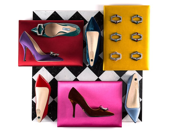 Options from Prada's Made To Order shoe project.