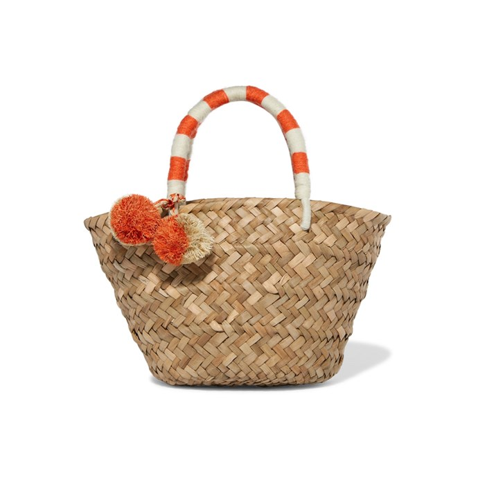A straw market bag<br><br> To add a French touch to your outfits.<br><br> Bag, $83, [Kayu](https://www.net-a-porter.com/au/en/product/899298/Kayu/st-tropez-mini-pompom-embellished-woven-straw-tote) at net-a-porter.com.