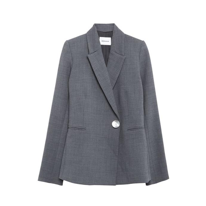 A slightly oversized blazer<br><br> To give a nonchalant nod to spring suiting. <br><br> Blazer, $989, [Georgia Alice](https://www.mychameleon.com.au/blazer-grey) at mychameleon.com.