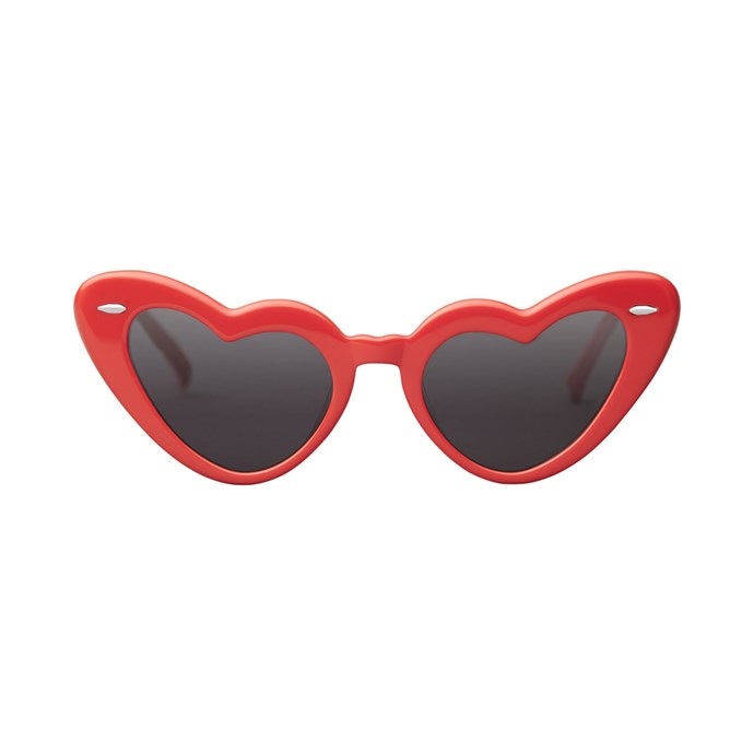 Punchy cat-eye sunnies<br><br> To wear with just about everything. <Br><br> Sunglasses, $169, [Takesh](https://takesheyewear.com/products/jadore).