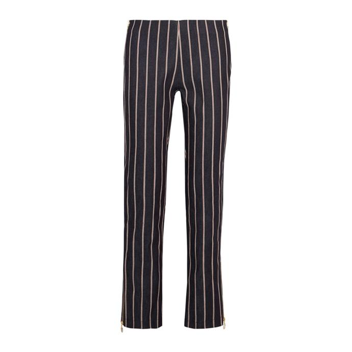 Striped trousers<br><br> To wear with tees and sneakers.<br><br> Trousers, $347, [Maggie Marilyn](https://www.net-a-porter.com/au/en/product/937748/Maggie_Marilyn/loyal-companion-mid-rise-striped-straight-leg-jeans) at net-a-porter.com.