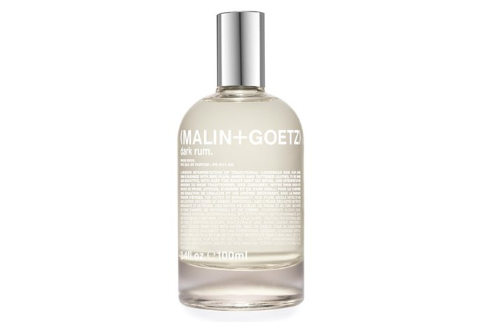 Dark Rum, $240, Malin+Goetz at [Mecca](http://www.mecca.com.au/malin-goetz/dark-rum-edp/I-027198.html) <br><br> **Top notes:** Plum, spiced rum, leather and bergamot.