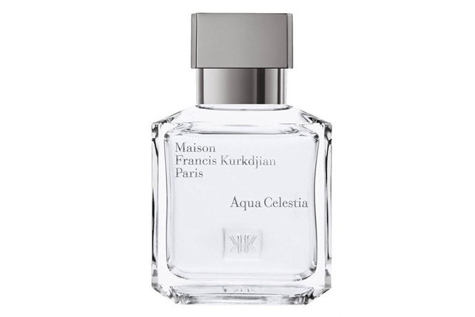 Aqua Celestia, $212, Maison Francis Kurkdjian at [Mecca](http://www.mecca.com.au/maison-francis-kurkdjian/aqua-celestia-edt/I-026871.html) <br><br> **Top notes:** Sea air, zesty lime and cool mint.