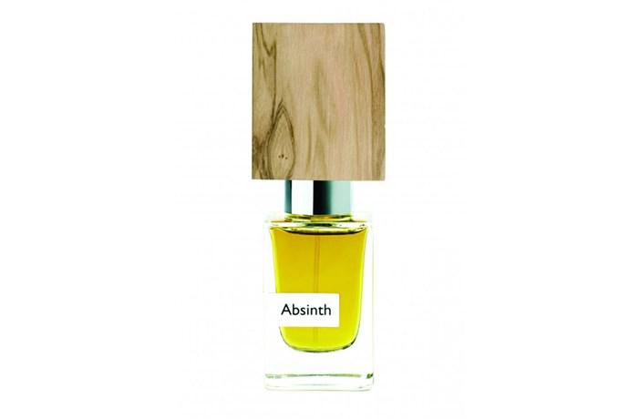 Absinth EDP, $250, Nasomatto at [Saison](https://www.saison.com.au/nasomatto-absinth-parfum-extrait.html) <br><br> **Top notes:** Anise, liquorice, vetiver and bitter herbs.