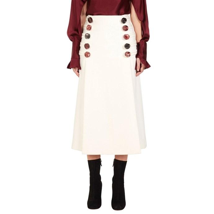 **The exaggerated detail midi skirt**<br><br> Skirt, $890, Christopher Esber at [David Jones]http://rstyle.me/n/cr9bdpvs36)
