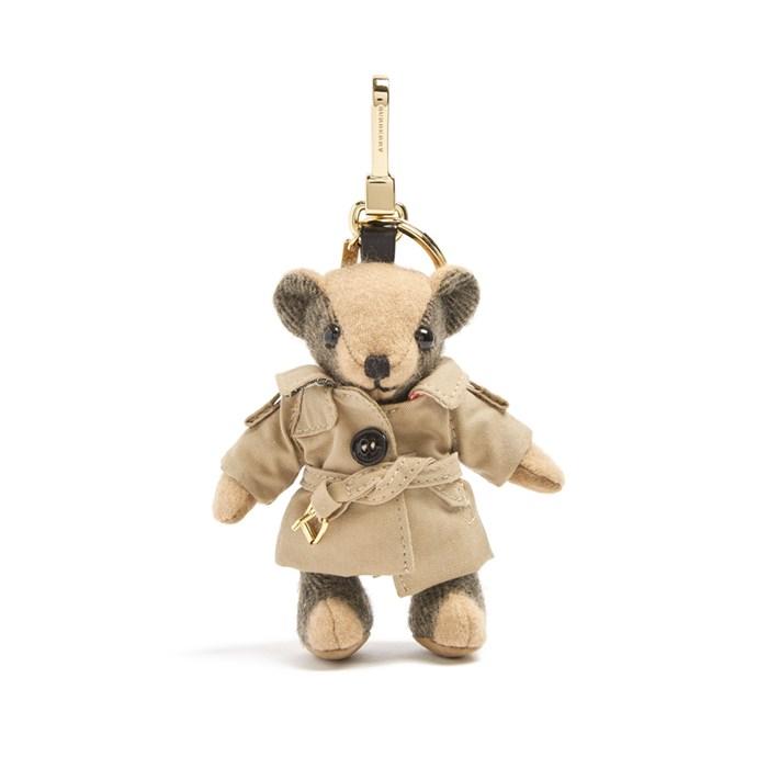 Key ring, $268, [Burberry](http://www.matchesfashion.com/products/Burberry-Thomas-bear-key-ring-1139269) at matchesfashion.com