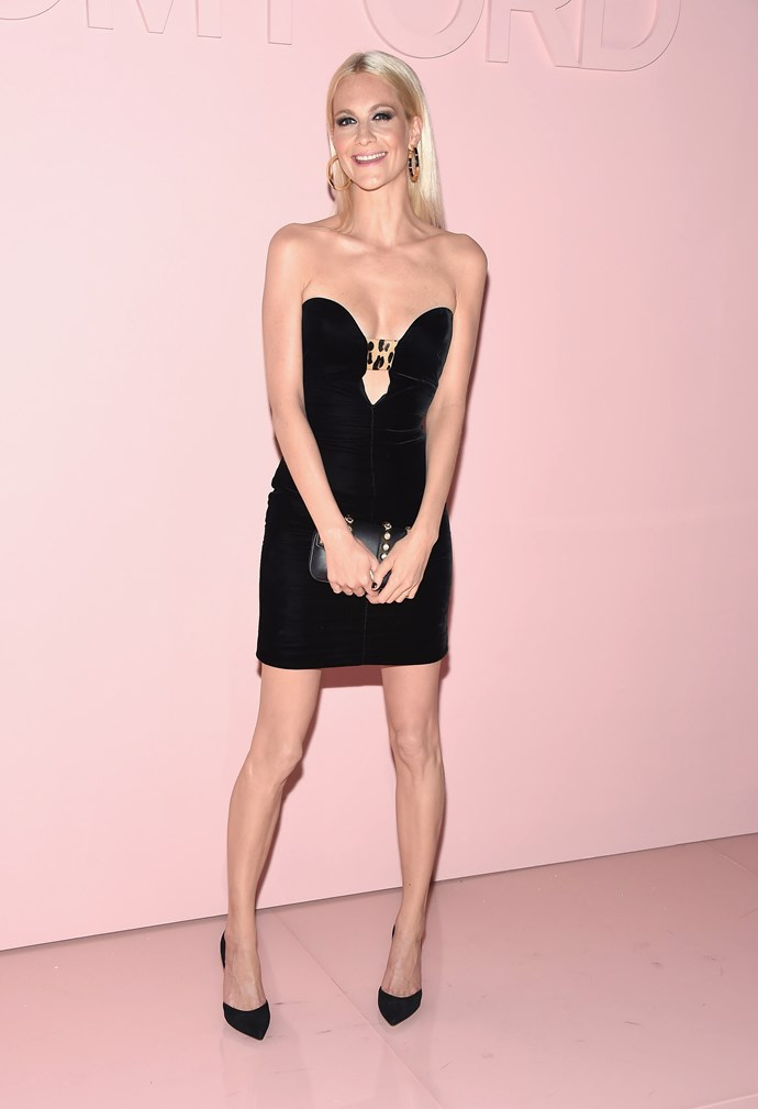 Poppy Delevingne, at Tom Ford