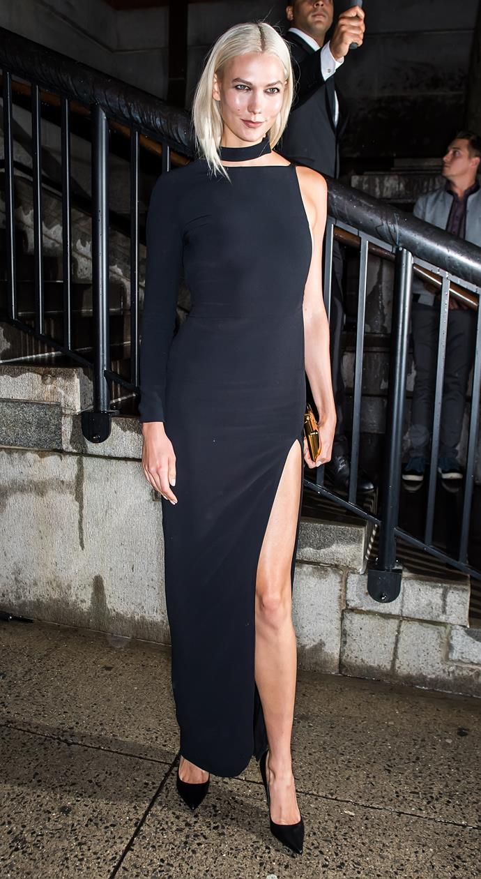 Karlie Kloss, at Tom Ford
