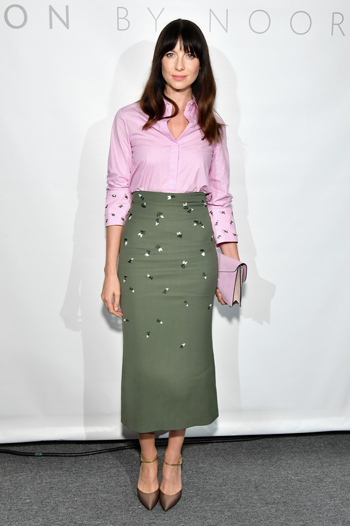 Caitriona Balfe, at Noor by Noor