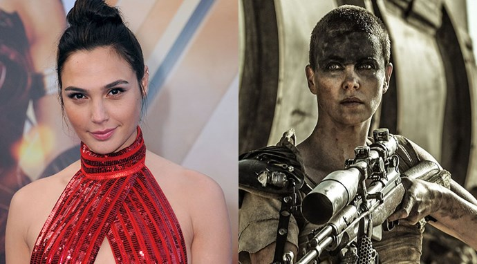 """Gal Gadot revealed in a podcast with *[The Hollywood Reporter's Awards Chatter](http://www.hollywoodreporter.com/topic/awards-chatter-podcast)* that she was the runner-up to Charlize Theron for the role of Furiosa in *Mad Max: Fury Road*. """"I had so many almosts for big, great things, but I was never big enough of a name. I was runner-up for *Mad Max* with Charlize."""""""